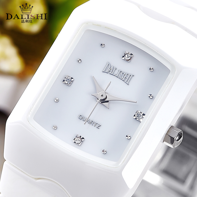 Luxury Brand Lady Quartz Ceramic Watch Simple Women Fashion Dress wristwatch Famale Business Dress Charm Clock Relogio Feminino<br>