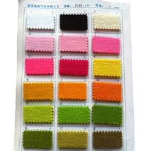 High Quality Thickness 5mm feltro Non woven Felt Multicolour 90X45cm For Home Storage DIY Handmade Shoes Coaster Material Fabric(China)