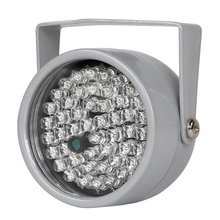Infrared Illuminator 48 pcs IR LEDs night vision IP66 Rating Infrared assist light Metal outdoor waterproof for CCTV Camera(China)