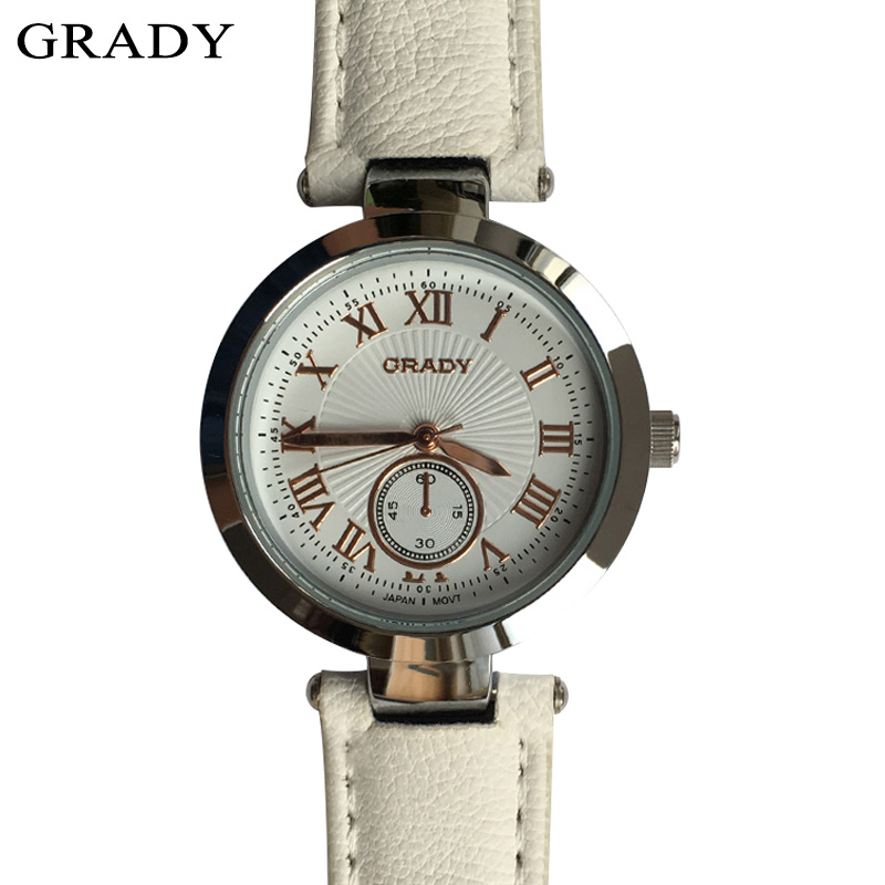 Grady fashion woman belt watches 2017 top brand luxury shockproof waterproof quartz watch rose gold clock reloj mujer Free Ship<br>