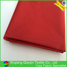 High quality 100% nylon red color ripstop nylon kite fabric