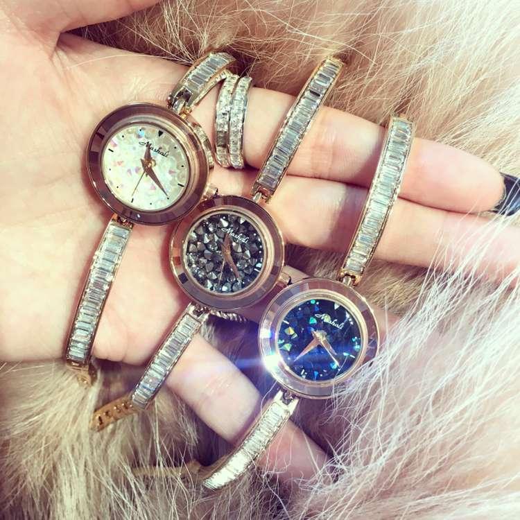 Luxury Fashion Rhinestone Bracelet Watches Women Stainless Steel Quartz Watch For Ladies Dress Watch Clock Feminino Montre OP001<br><br>Aliexpress