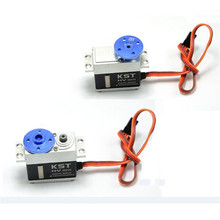 Original FUTABA 25T CNC Aluminum Servo Arm Round Type Blue For RC Helicopter Camera Drone Accessories(China)