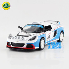 Free Shipping/1:32 Scale/2012 Lotus Exige R-GT/Classical Educational Model/Pull back Diecast Metal toy car/Collection