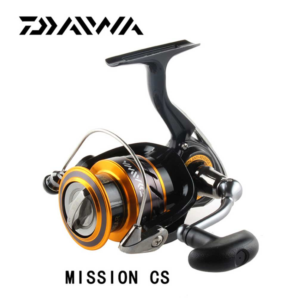 2017 DAIWA fishing reel MISSION CS 2000/2500/3000/4000 with Light body and top quality with 4 Stainless steel bearings<br>