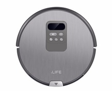 ILIFE X750 Robot Vacuum Cleaner with Self-Charge Wet Mopping for Wood Floor free shipping&customs