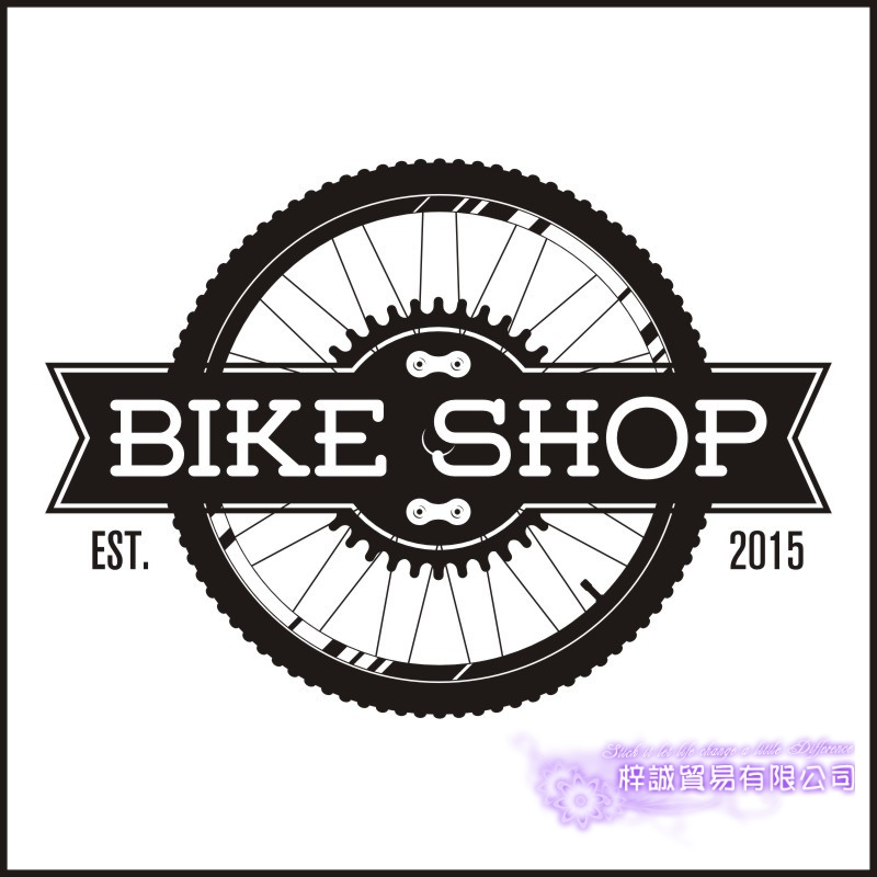 DCTAL Bike Shop Sticker Bicycle Car Decal Posters Vinyl Wall Decals Pegatina Decor Mural