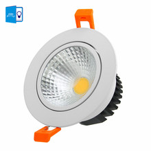 [DBF]High Bright Dimmable 6W 9W 12W 15W LED Downlight Frosted Glass Lens LED Recessed Ceiling Light Spotlight AC110V/220V+Driver