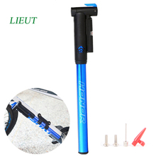LIETU Bicycle Bike Pump Aluminium Alloy Mini Portable Pump Black gold blue red Frame-Mounted Cycling Pumps(China)