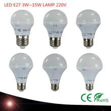 NEW LED Lamp E27 3W 5W 7W 9W 12W SMD5730 Lampada LED Light Bulb 220V 240V High Brightness Chandelier Lights Bombillas LED