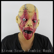 New 1 PC Halloween Cosplay Latex Bloody Zombie Mask Melting Face Walking Dead Scary Party Mask Mardi Gras Ball Masks in stock