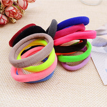 Sale 10 pcs Women Girls Cute Hair Accessories Hair Ties Rope Rubber Band Hair Elastic Band