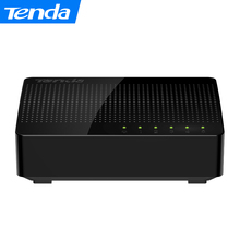 Tenda SG105 Mini 5 Port Gigabit Ethernet Switch,1000Mpbs Fast Ethernet Network Switches , LAN Hub, Full or Half duplex Exchange(China)