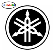 HotMeiNi 13*13cm for Yamaha Logo Quad Life JDM Decal Window Car Sticker Truck Car Styling Accessories Black/Sliver(China)