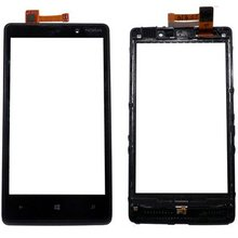HT01 New Repair Parts OEM Touch Screen Digitizer Panel Glass Lens Replacement for Nokia Lumia 820 N820
