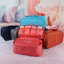 Fashion Creative Convenient Travel Three Layers Of Organizational Multi Functional For Underwear Storage Organizer(China)