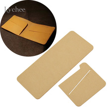 Lychee Acrylic Die Cutting Dies For DIY Wallet Purse Decorative Embossing Folder Stencil Die Cut Template Leathercraft Tool