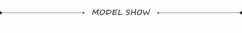modle show