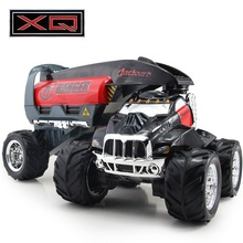 RC Truck Tanker Container Stunt Truck High Speed Shift Cross Country Radio Control Off-Road Vehicle Car Model Electronic Toys(China)