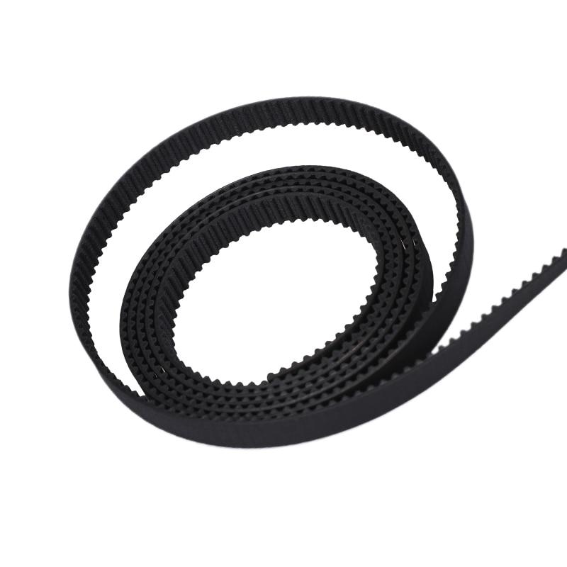 2GT Closed Loop Belt 2mm Pitch 6mm Width GT2 Timing Belt For 3D Printer Reprap