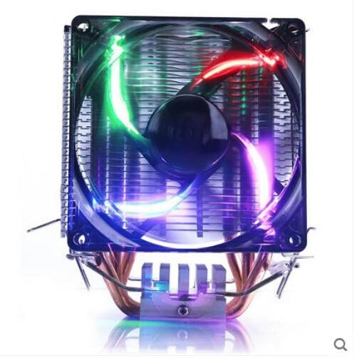3 heatpipe tower side-blown,LGA775/1151/115x,for AMD 939/AM2+/AM3/FM1,cpu radiator,CPU cooler,CPU Fan,PcCooler S99 free shipping<br>