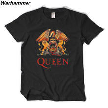 2017 new arriveal Queen Rock t shirts Freddie Mercury 5 star quality tees big yard short sleeved t-shirt EU.size casual fit tops