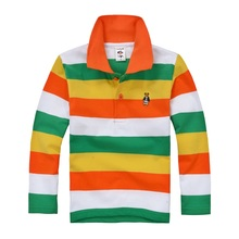 Big Discount kids boy girl polo shirts school uniform shirt  boys long sleeve t shirt   cotton children clothes cheap price