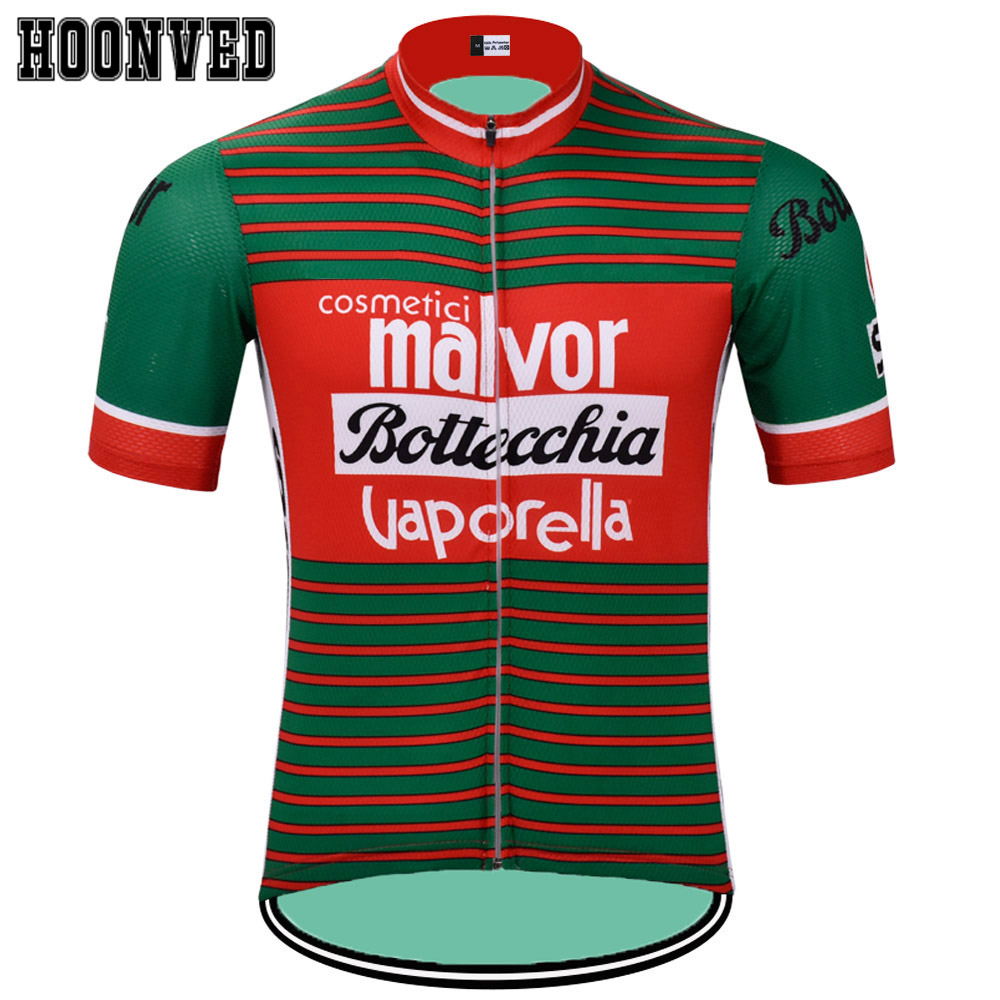 San Pellegrino Long Sleeve Cycling Jersey Retro Road Pro Clothing MTB