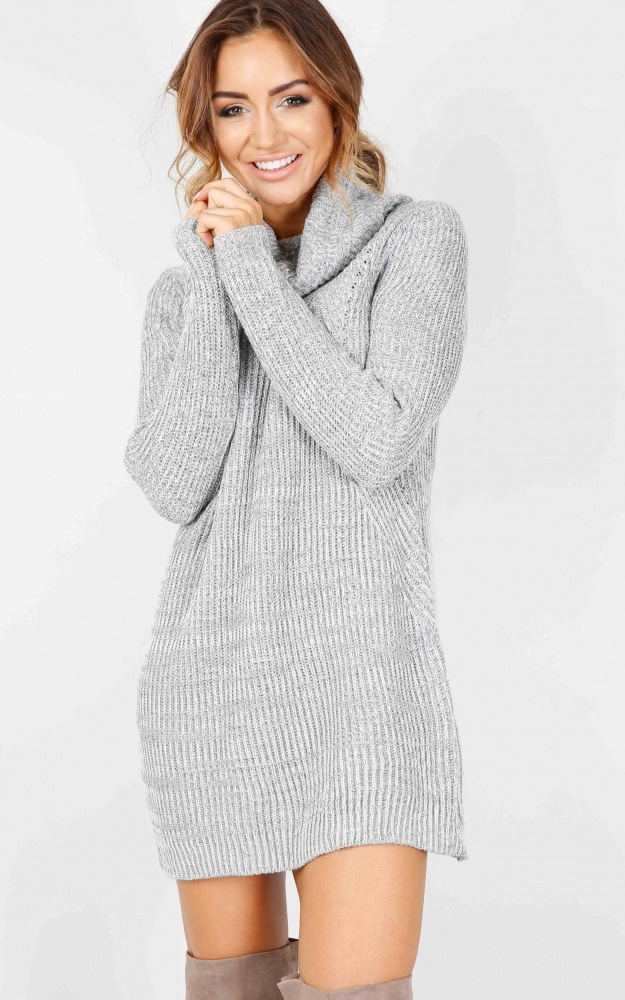 Turtleneck Long knitted pullover sweater, Women's Jumper, Casual Sweater 27