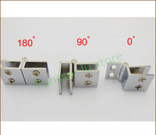alloy hinge, bar glass door, cabinets, showcase hinge,hardware Suitable for glass thickness 5-8mm. 90/180/0 degree(China)