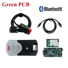 Green Ne c Relays PCB New vci VD TCS CDP Pro with Bluetooth mvd for CARs TRUCKs OBD2 Auto Scan tools 2015.R1/ 2014.R3 Software