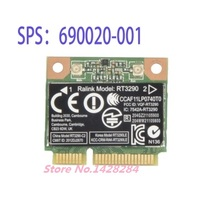SSEA New WIFI+bluetooth 4.0 half Mini PCI-E Wirelesss Card for Ralink RT3290 802.11b/g/n for HP CQ58 M4 M6 4445S DV4 G4 G6 G7(China)