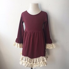 factory price new model girl dress blank cotton girls clothing pakistani xxx photo girls fancy dresses crochet lace dress