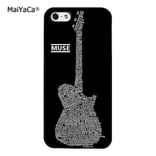 MaiYaCa Muse Band Lyrics Music Songs fashion soft mobile cell Phone Case Cover For iPhone 5 5S SE Custom DIY cases luxury shell(China)