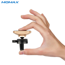 Momax Mini Adsorption Phone Car Holder Air Vent Mount Universal Phone Stand Bracket Cradle Charger Dock No Magnetic for GPS(China)