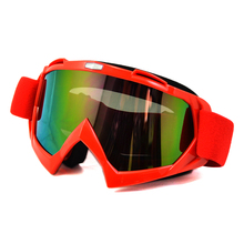 BJMOTO Motorcycle Goggles Motocross Bike glasses Cross Country Flexible Goggle Tinted UV Lens