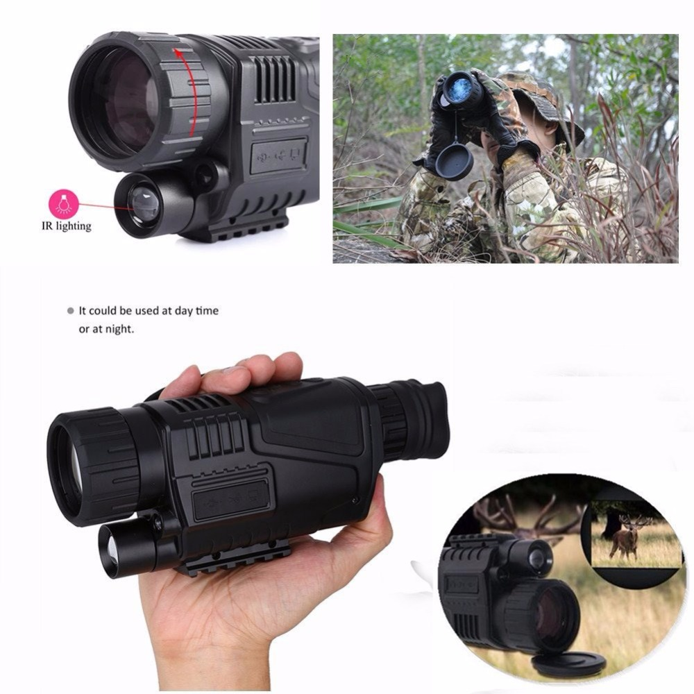 HD Binoculars Compact Clear Optical Telescope 5x40 with Low Light Night Vision (11)