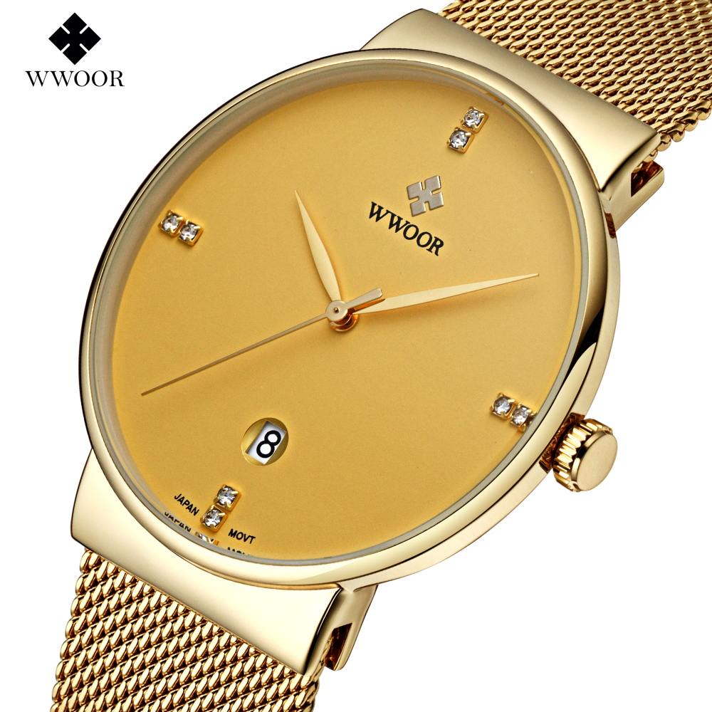 2017 New Luxury Brand Mens Watches Stainless Steel Band Analog Display Quartz Men Wrist watch Ultra Thin Dial Mens Watches<br><br>Aliexpress