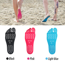 10 pairs/set Hot Selling 2017 Hypoallergenic Adhesive Feet Pad Stick On Anti-Slip Soles, Buy Best Nakefit Sticker Shoes(China)