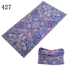 421-440 New Arrival Mixed Design Bandana Scarf Summer AN-UV Unisex Face Mask Tube Scarves Seamless Turban Headband hijab