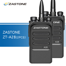 2pcs 10W Zastone ZT-A28 Walkie Talkie UHF 400-480MHz Professional Two Way Radio Ham CB Radio Transceiver Portable Walkie-talkies(China)