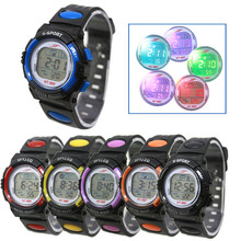 New good quality Outdoor Waterproof watches sport Children Boy Girl Alarm Date Digital Multifunction Sport LED Light Wrist Watch