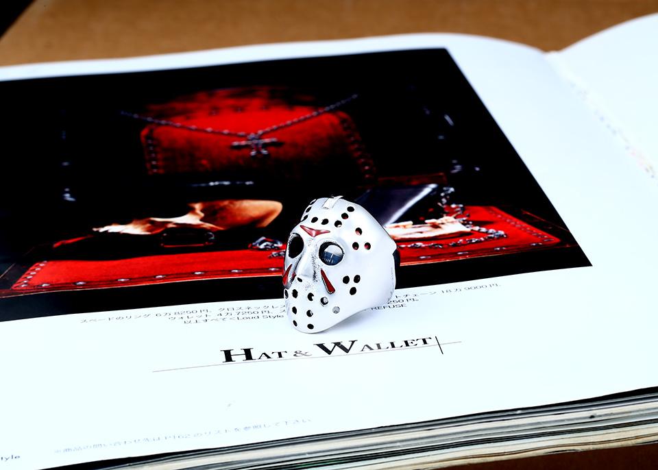 แหวนแฟชั่น Code 059 Friday 13 Series 2 สแตนเลส หน้ากากเจสันโหดๆ4