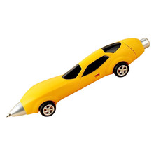 6 Colors Novelty Classic Toys Cars Ballpoint Pens Shape Diecasts & Toy Vehicles Multicolor Cars Toys For Kids(China)