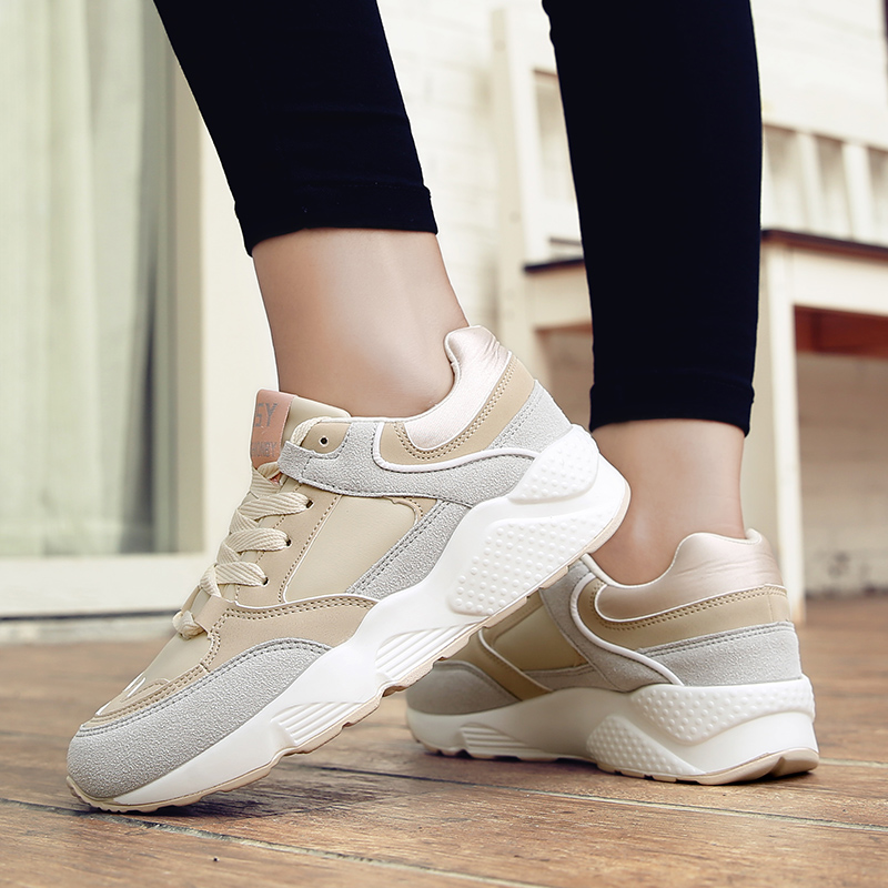 Autumn Running shoes for women sneakers Athletic walking shoes breathable outdoor sport shoes woman zapatillas deportivas mujer 46