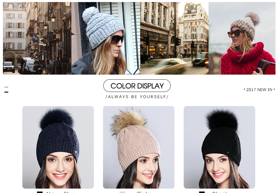 woman winter hats MZ710B (4)
