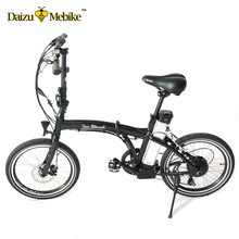 "JS folding 20"" aluminum alloy electric bike 250W brushless hub motor 36V 10AH li-ion battery electric bike CE approved ebike(China)"