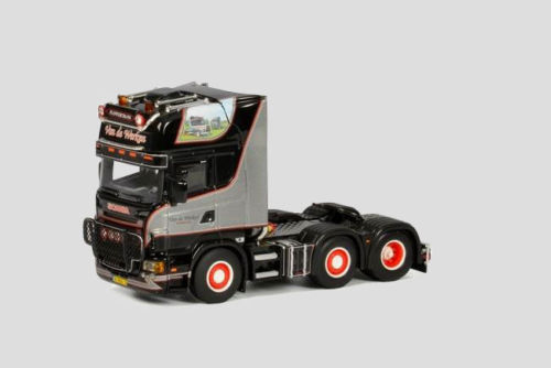 WSI, Van de Werken, SCANIA R Topline, Die-Cast, Model, truck 1/50, 01-1920, Rare(China (Mainland))
