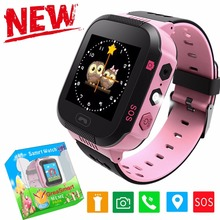 2017 Best Child GPS Tracker Smart Watch With Camera Touch Screen Activity Phone Locator Smartwatch Smat Watch For kids Boys Girl(China)