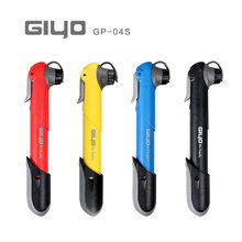 Giyo GP-04s 80g Portable Mini MTB Mountain Bike Bicycle Pump 120 psi High Pressure Cycling Hand Air Pump Ball Tire Inflator(China)